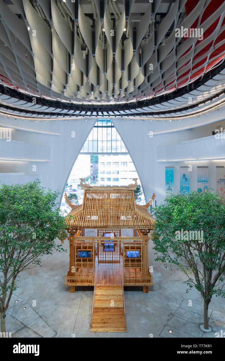 Xiqu Centre, Kowloon, Hong Kong Stock Photo