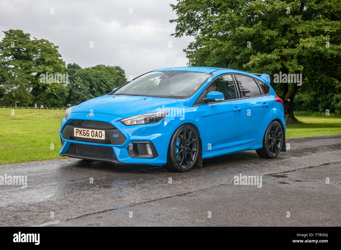 Blue Ford Focus Rs High Resolution Stock Photography And Images Alamy