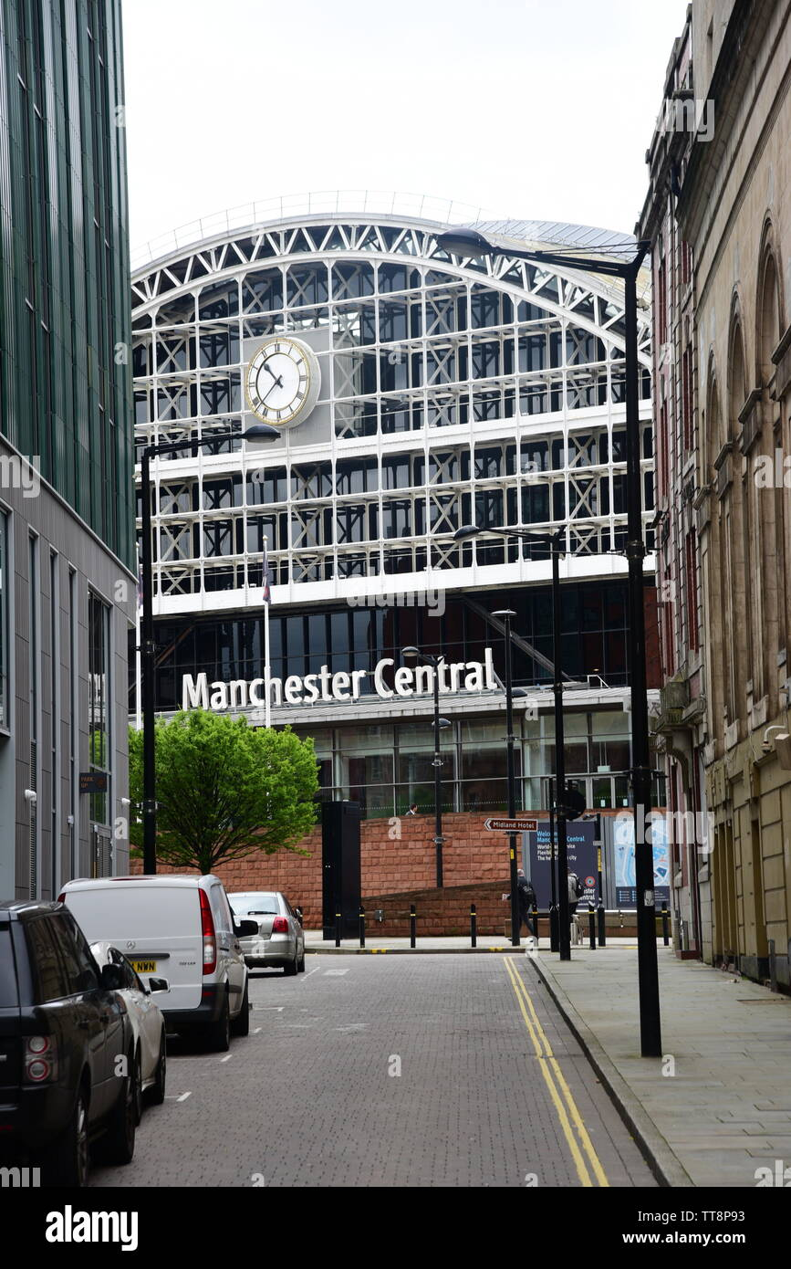 Manchester Central - Stock Image