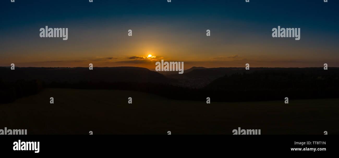 Amazing Sunset - Stock Image