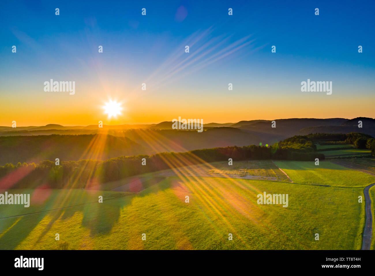 Sunrise - Stock Image