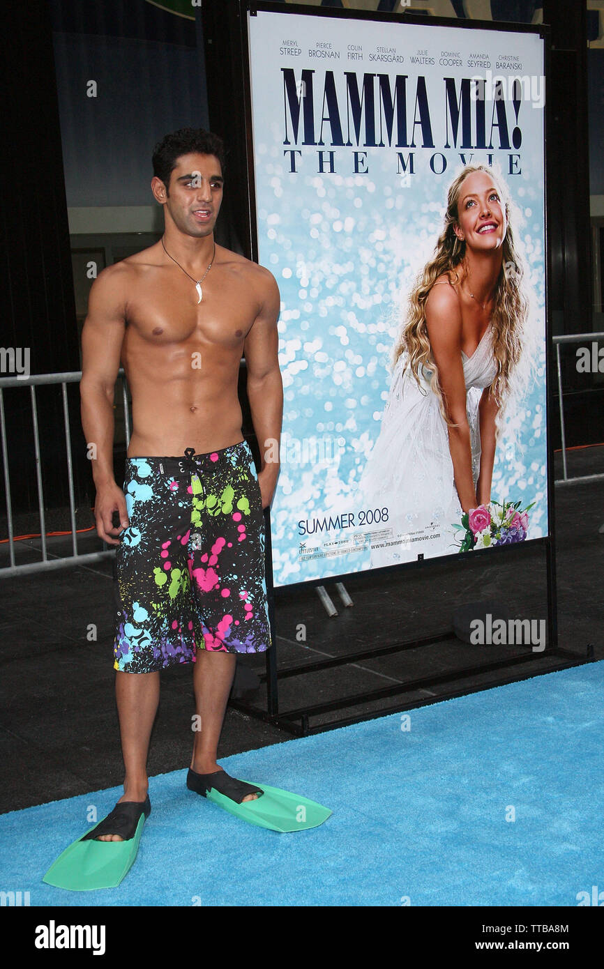 New York, USA. 16 July, 2008. Atmoephere at the Premiere of 'Mamma Mia!' at The Ziegfield Theater. Credit: Steve Mack/Alamy - Stock Image