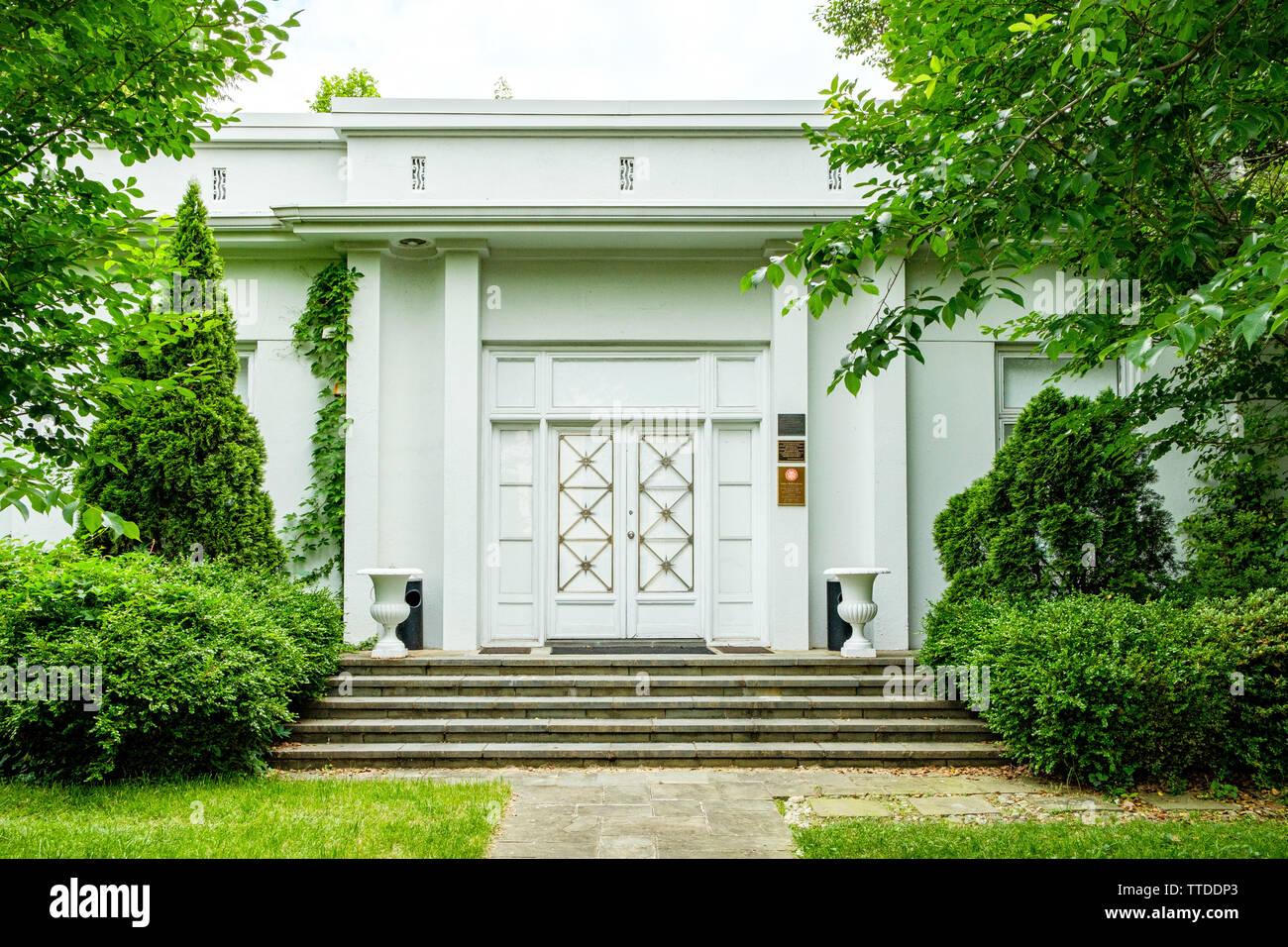 Bolivarian Hall of the Embassy of Venezuela, 2443 Massachusetts Avenue NW, Washington, DC - Stock Image