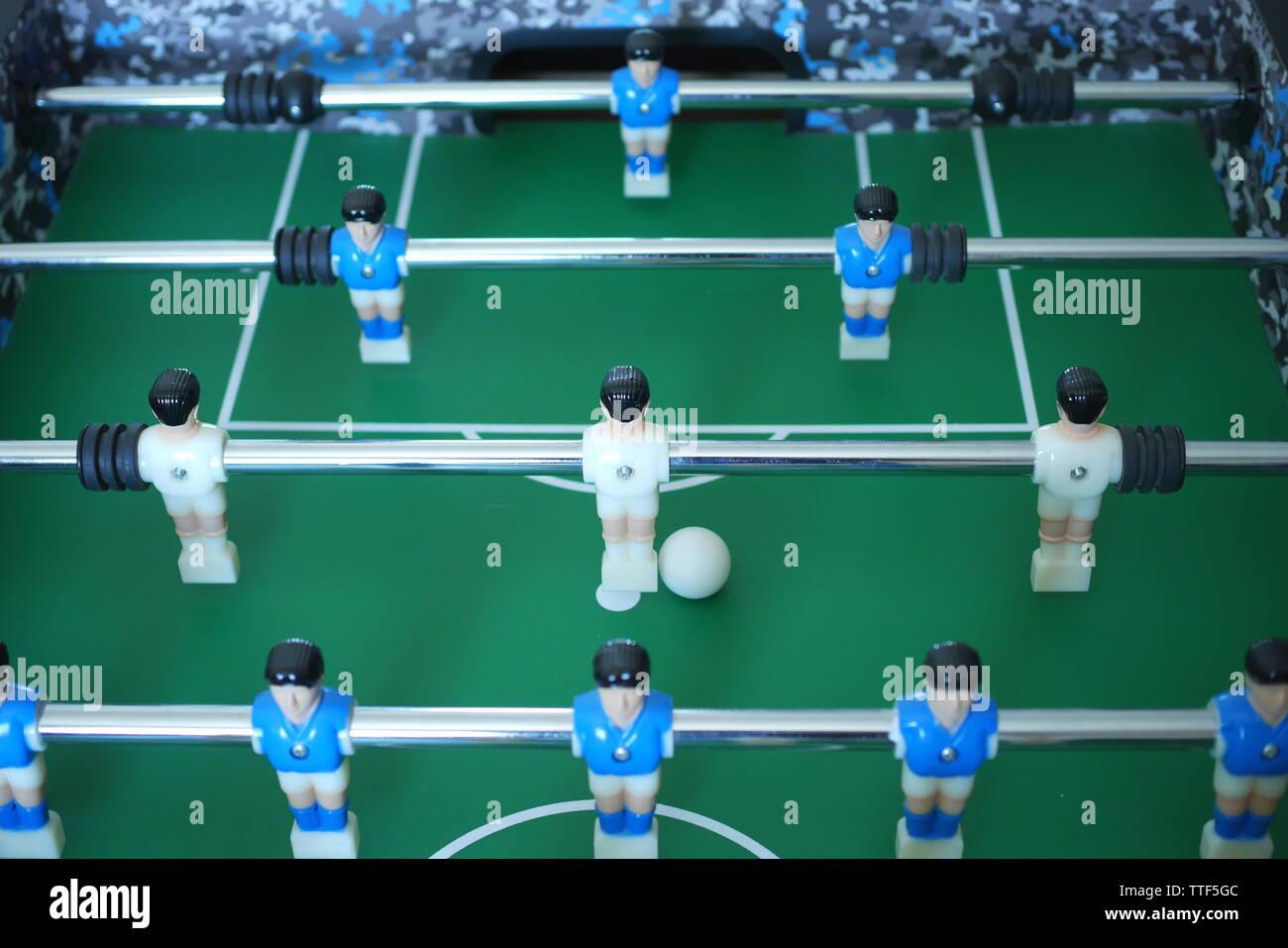 Table football, foosball, table - Stock Image