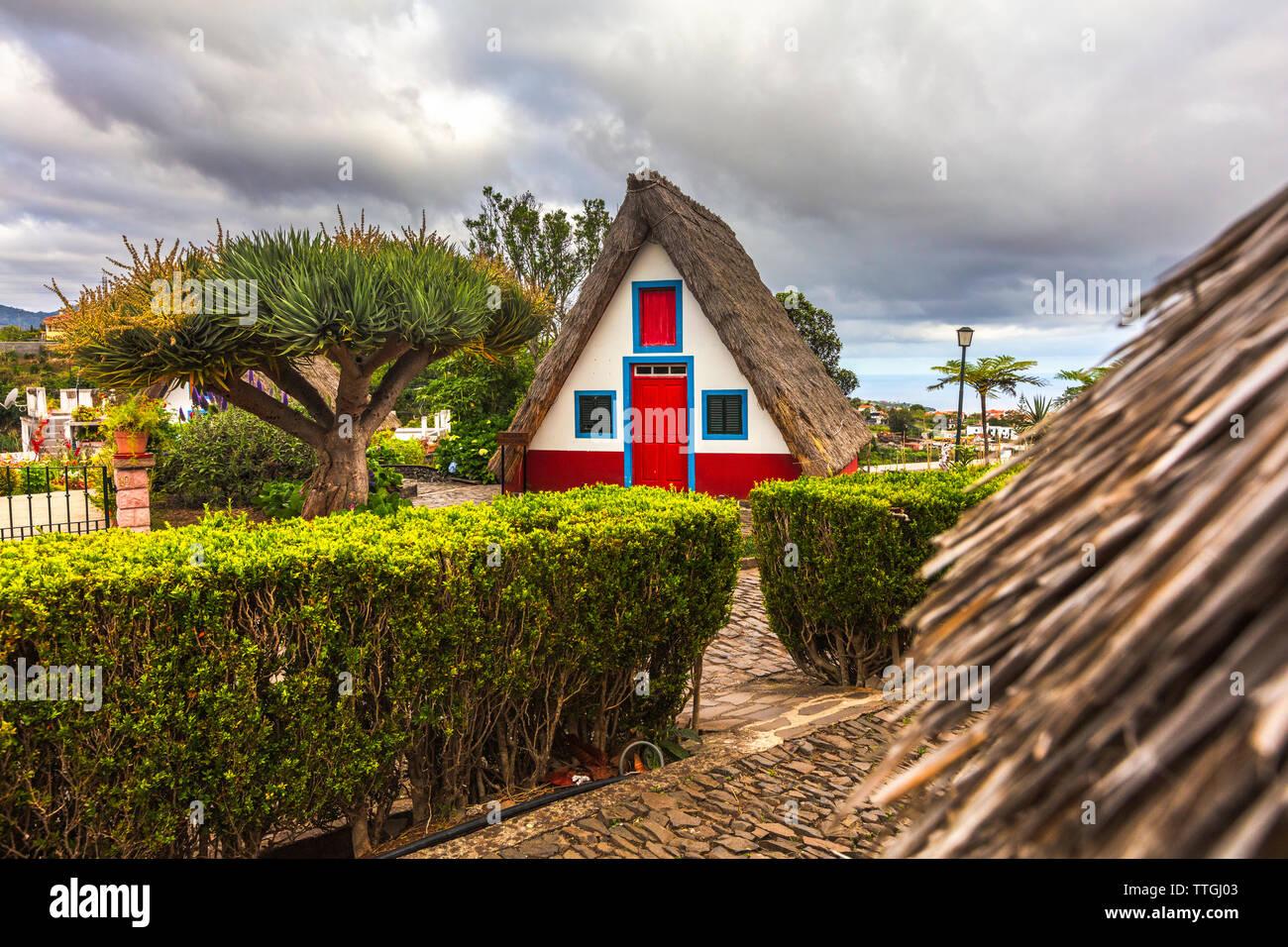 Santana Houses - Stock Image