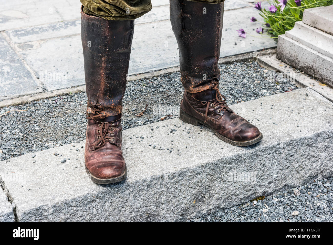 81253109de5 Well Worn Leather Stock Photos & Well Worn Leather Stock Images - Alamy