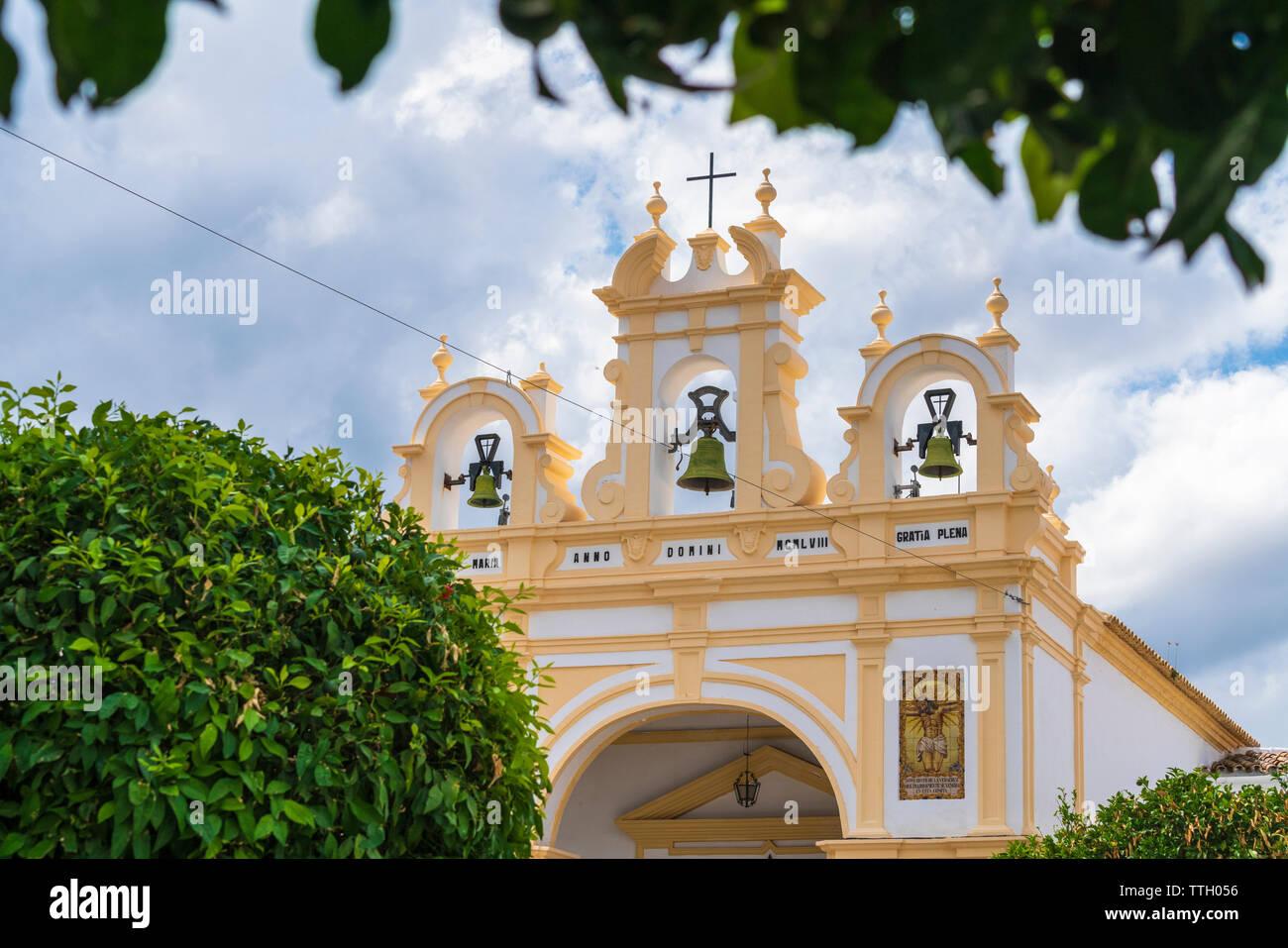 Cappella San Juan de Letran, Zahara de la Sierra, Andalusia - Stock Image