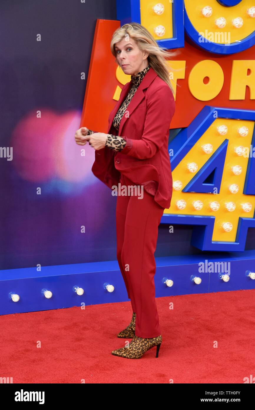 Kate Garraway. Toy Story 4 European Premiere, Odeon Luxe, Leicester Square, London. UK - Stock Image