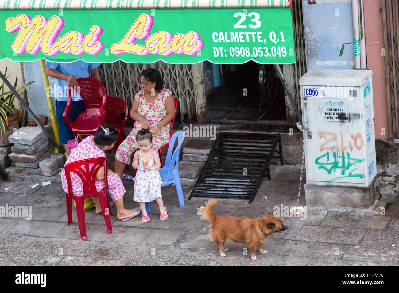 Saigon, South Vietnam - Stock Image