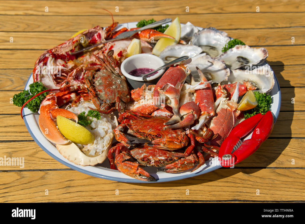 Seafood Platter High Resolution Stock Photography And Images Alamy