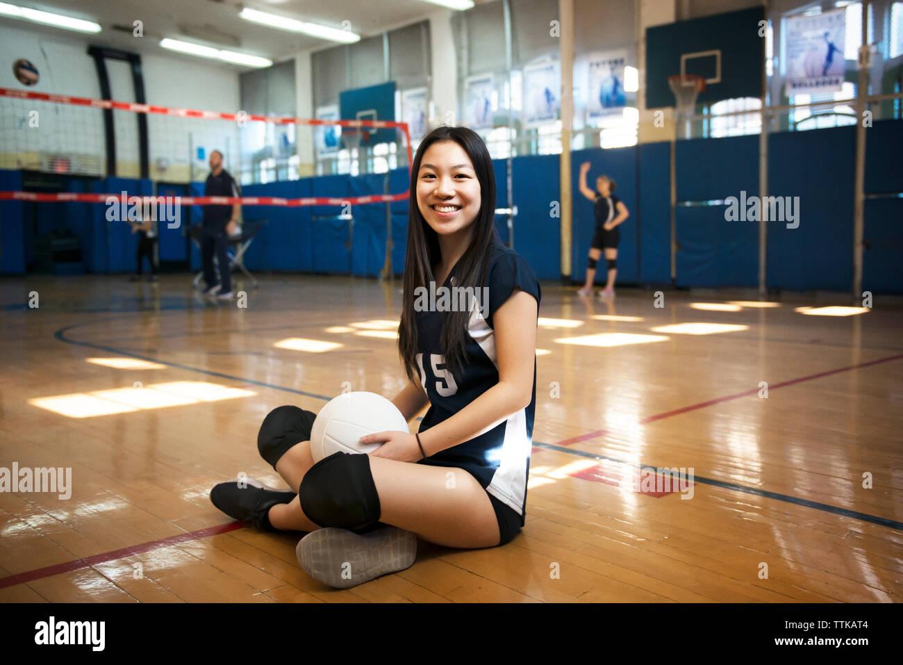Asian teen sport