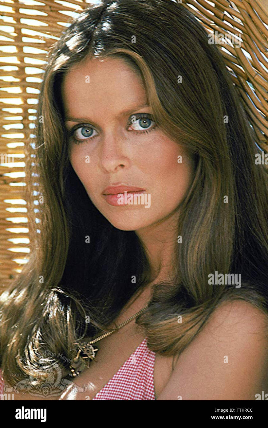 THE SPY WHO LOVED ME 1977 Eon Films production Barbara Bach - Stock Image