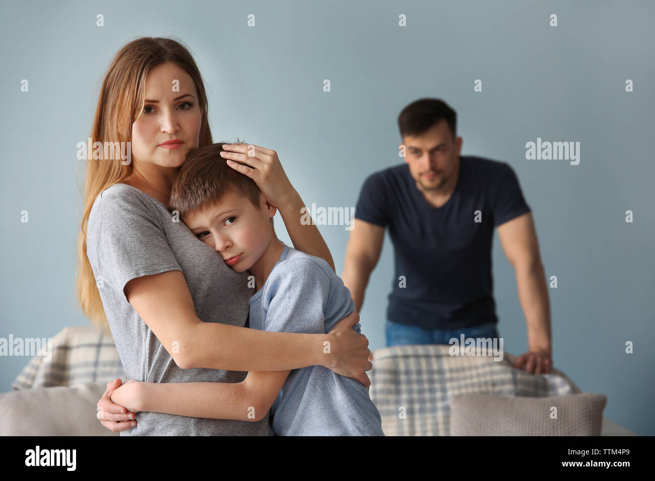 Family Problems High Resolution Stock Photography And Images Alamy