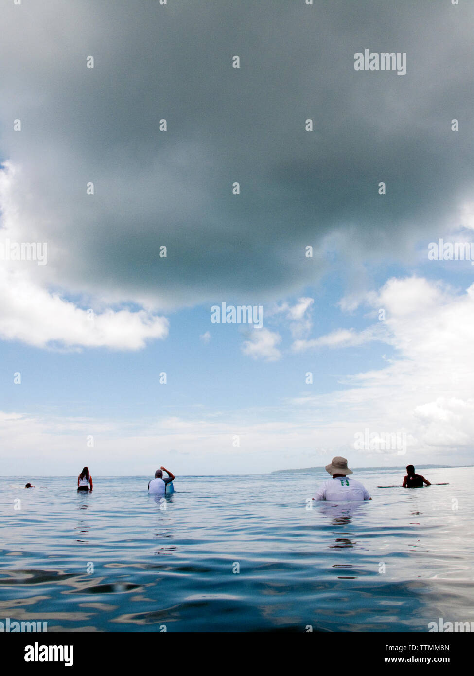 INDONESIA, Mentawai Islands, waiting for waves, Beng Beng - Stock Image