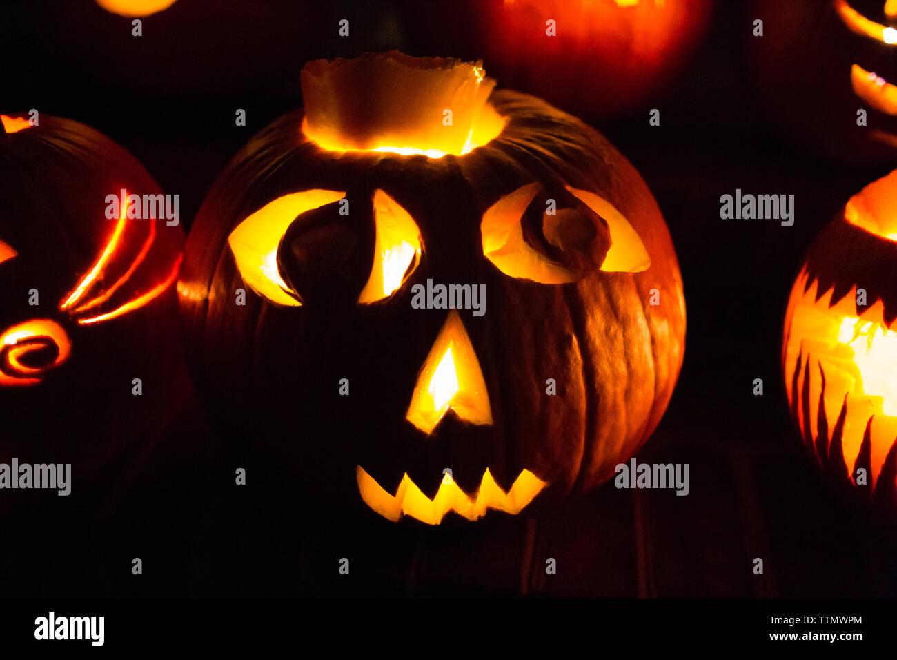 Jack O Lanterns Stock s & Jack O Lanterns Stock Alamy