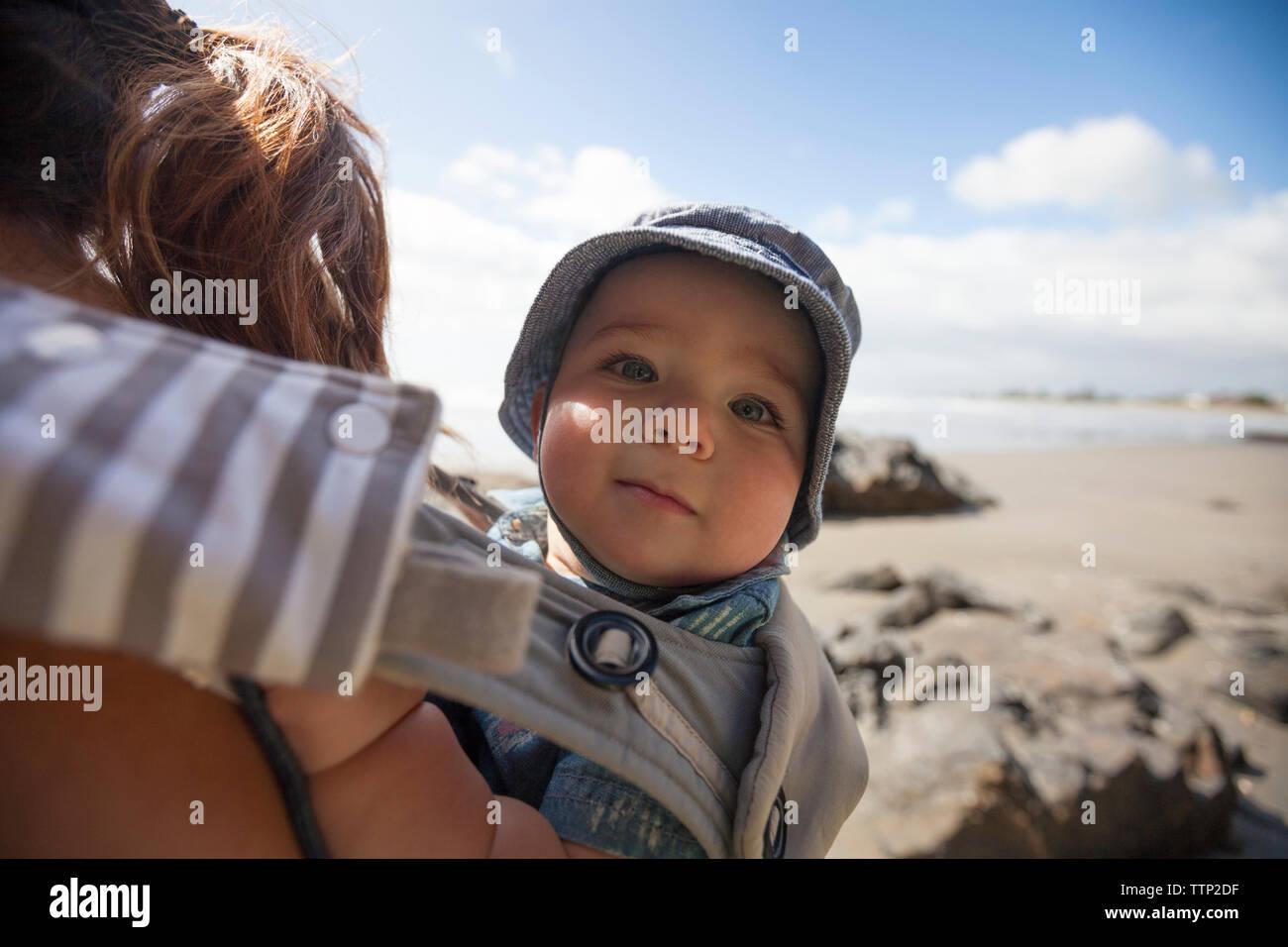beach baby carrier