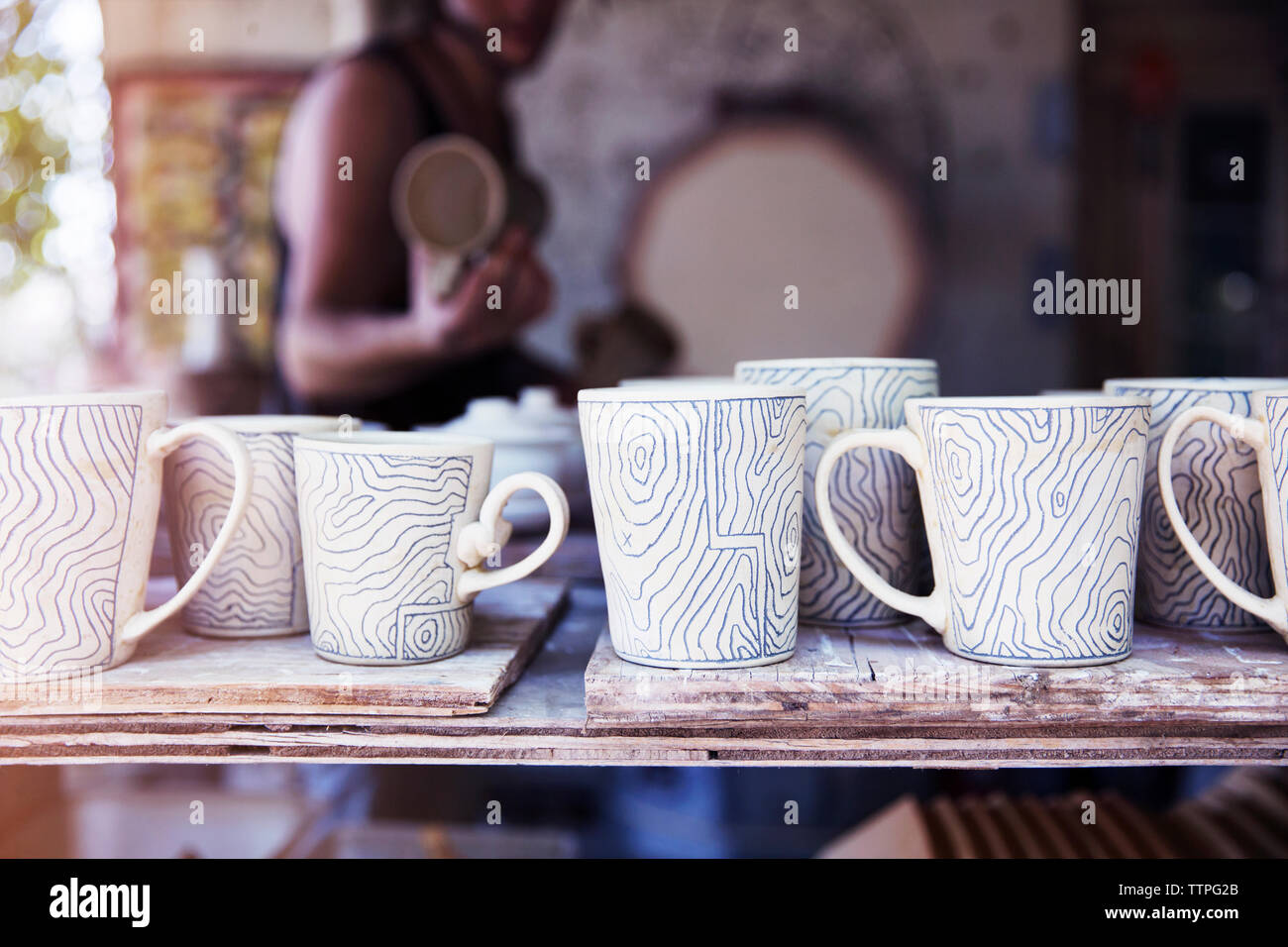 Clay Cups High Resolution Stock Photography and Images - Alamy