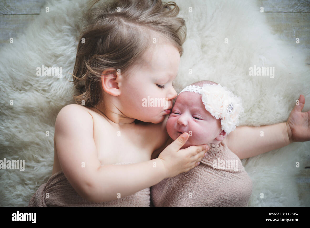 2 Month Old Baby Girl Lying On Her Back High Resolution Stock Photography And Images Alamy