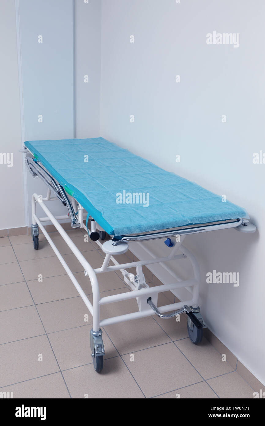 Medical equipment in modern clinic - Stock Image