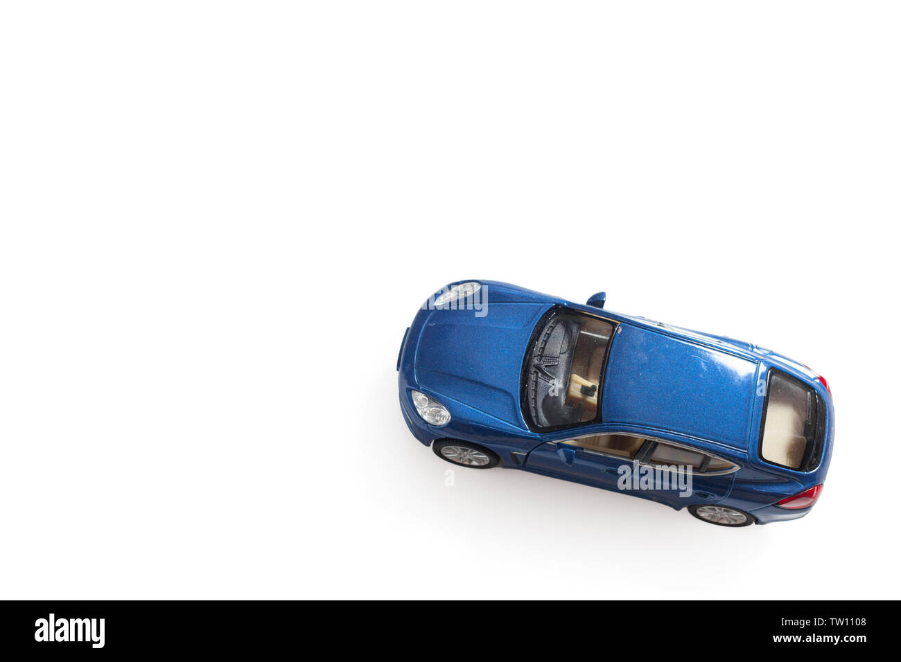 children's toy car - Stock Image