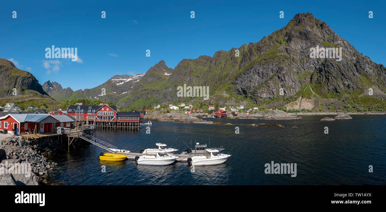 Å, Moskenes, Norway - Stock Image
