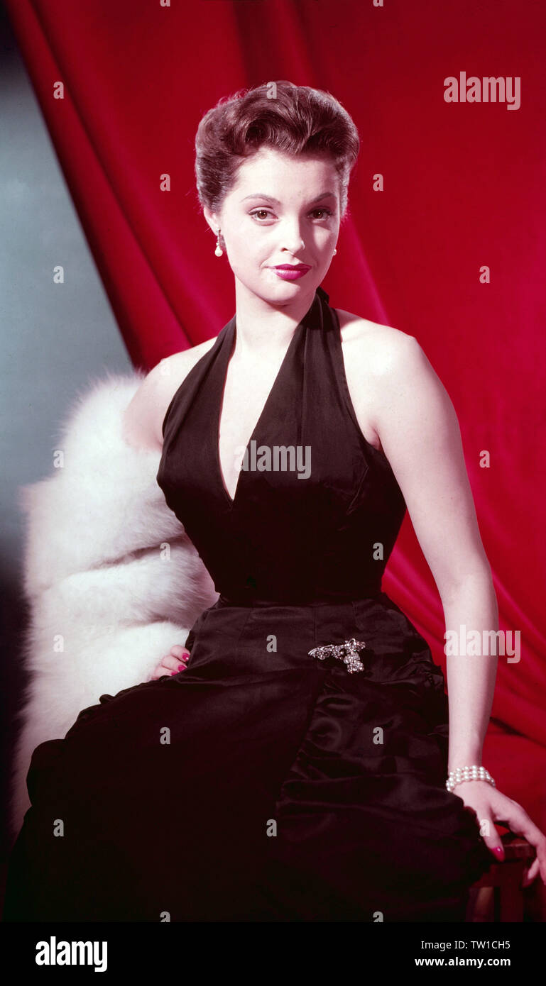 Nadja Tiller, österreichische Schauspielerin, Deutschland 1956. Austrian actress Nadja Tiller, Germany 1956. - Stock Image