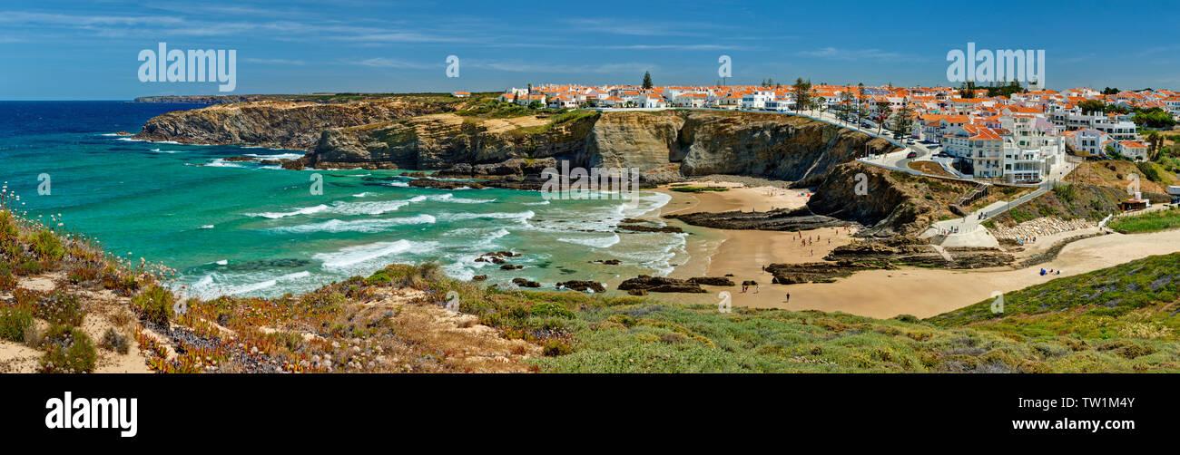 Zambujeira do Mar, the Alentejo, Portugal - Stock Image