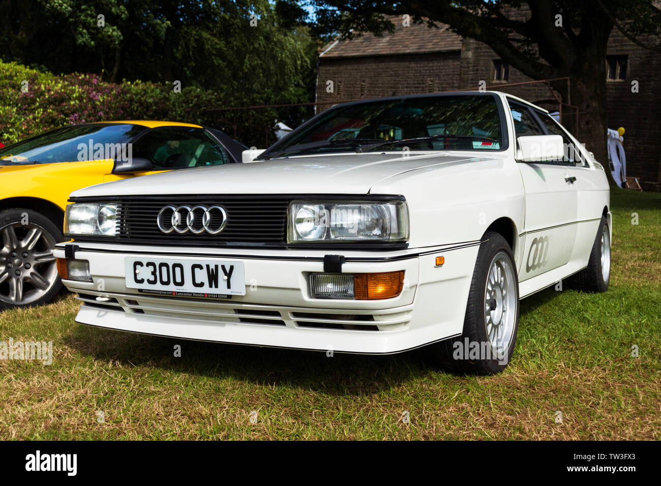 Audi Quattro - Stock Image