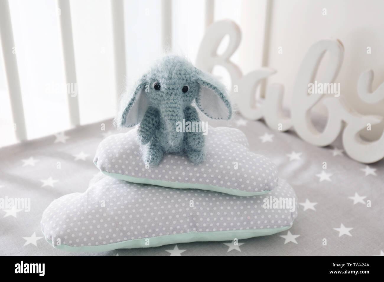 Elephant Pillow Free Crochet Pattern | 956x1300