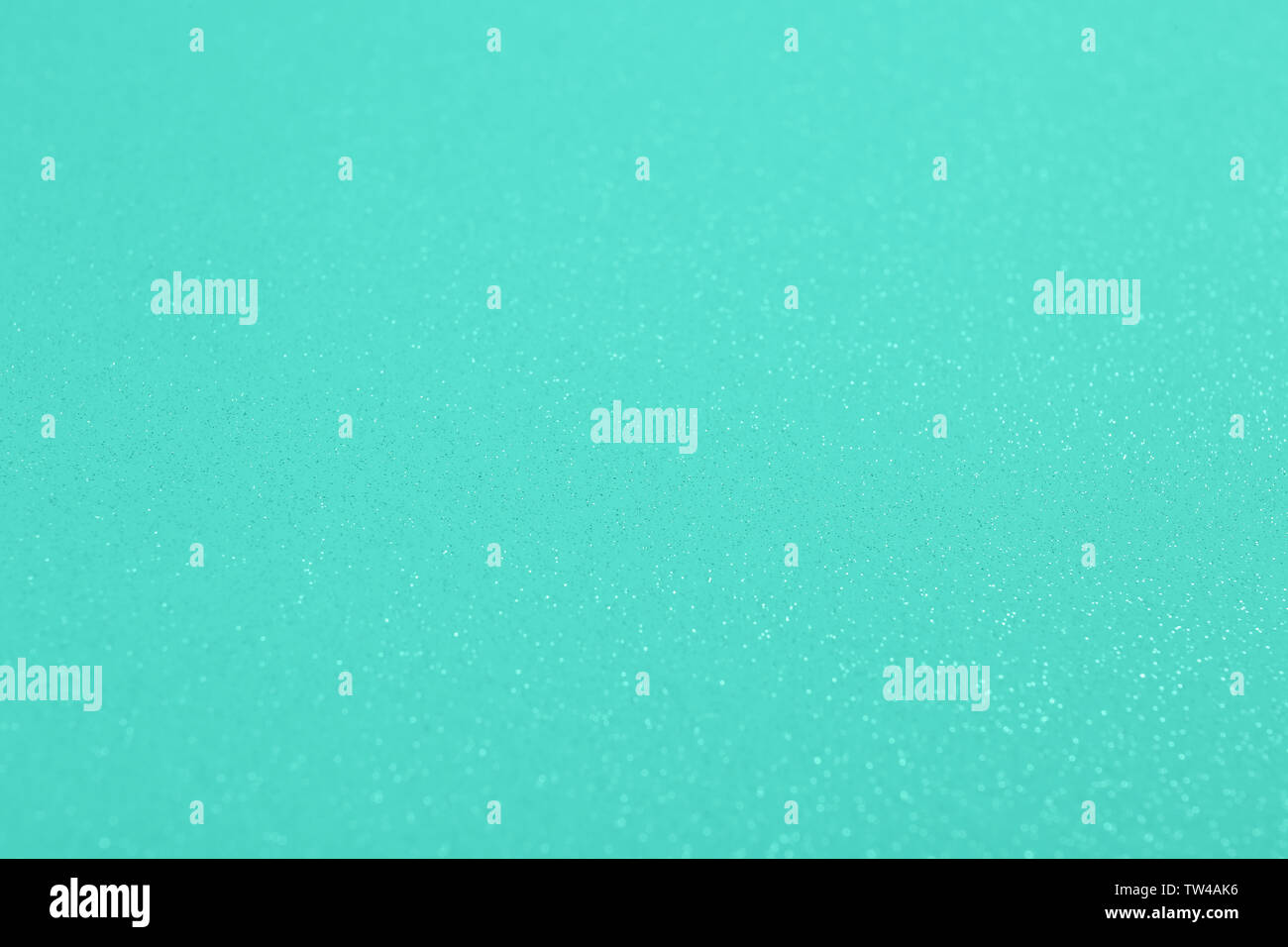 Mint background with glitters Stock Photo