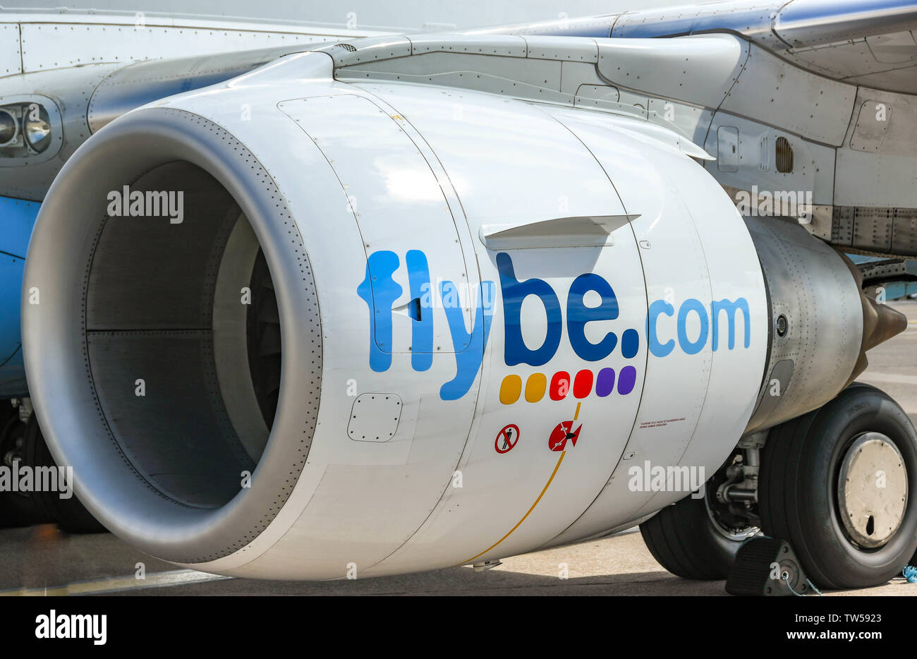 Engine Cowling Stock Photos & Engine Cowling Stock Images