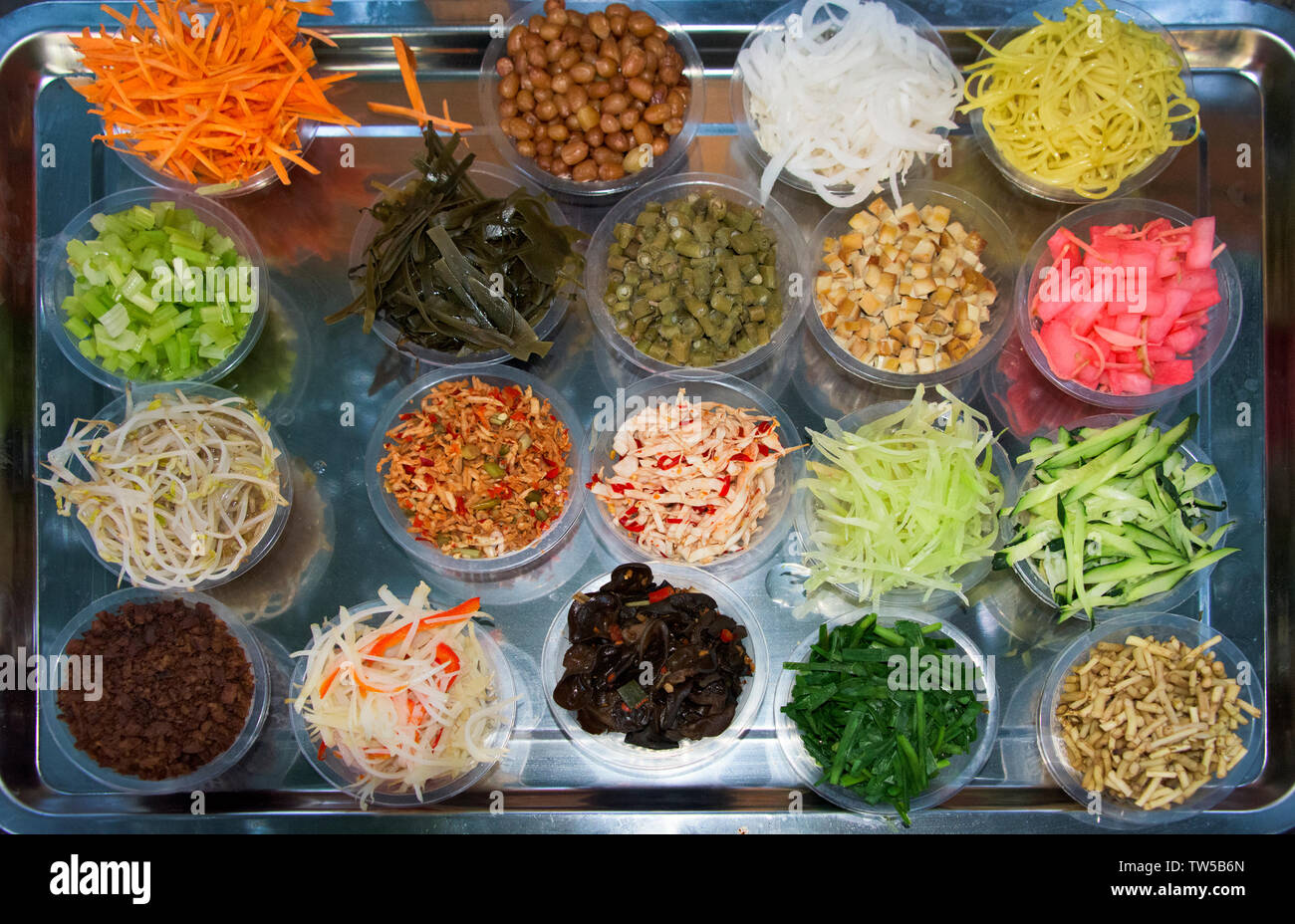 Food, Zhenyuan, Guizhou Province, China Stock Photo