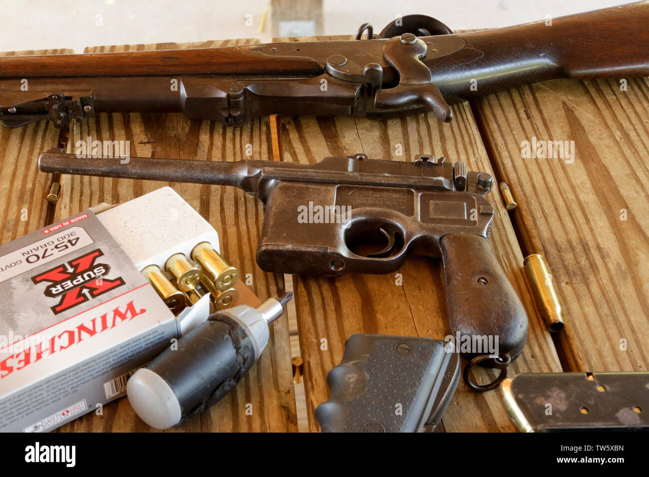 graphic regarding Printable Gun Stock Templates named Mauser Gun Inventory Pictures Mauser Gun Inventory Pics - Alamy