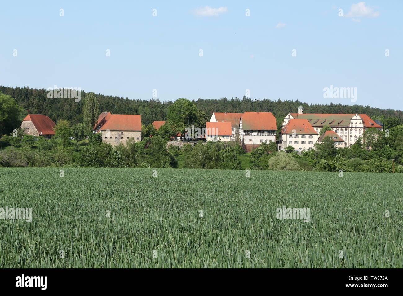 Blick auf Kloster Kirchberg im Schwarzwald - Stock Image