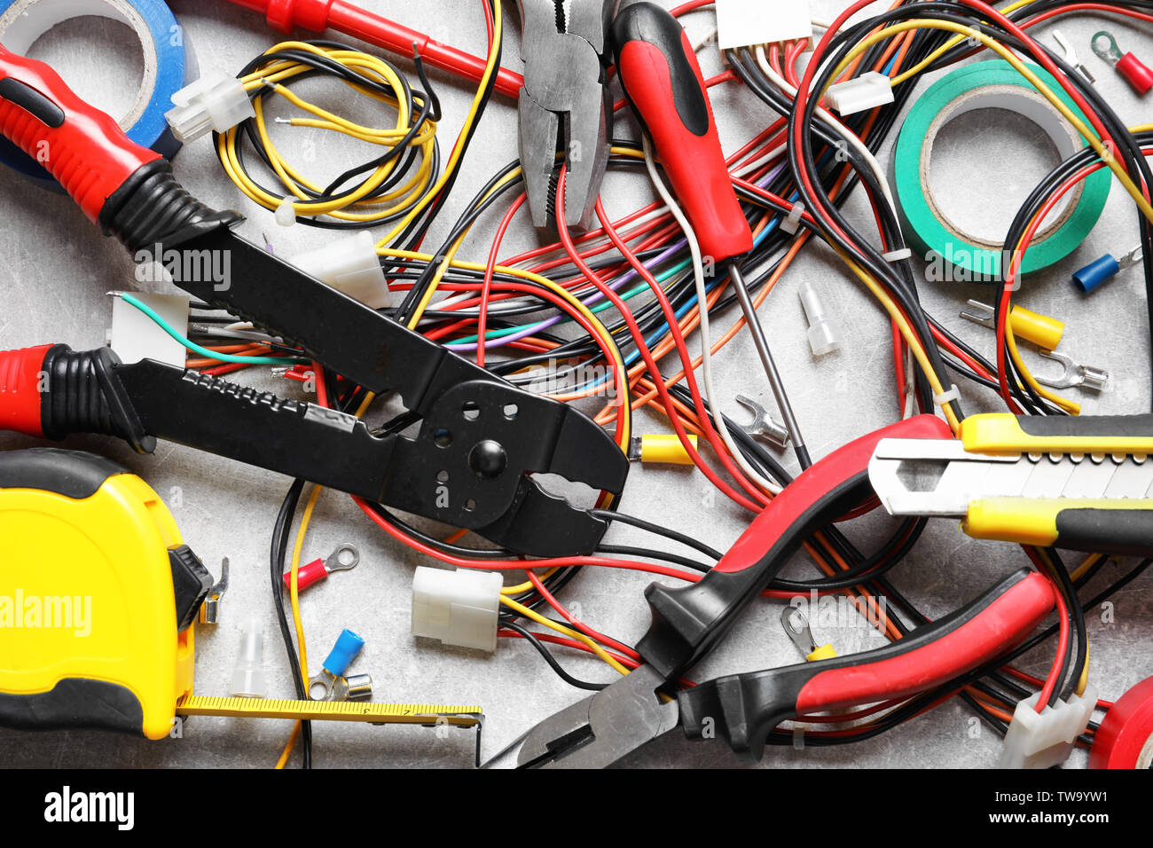 Electrical Tools High Resolution Stock Photography And Images Alamy