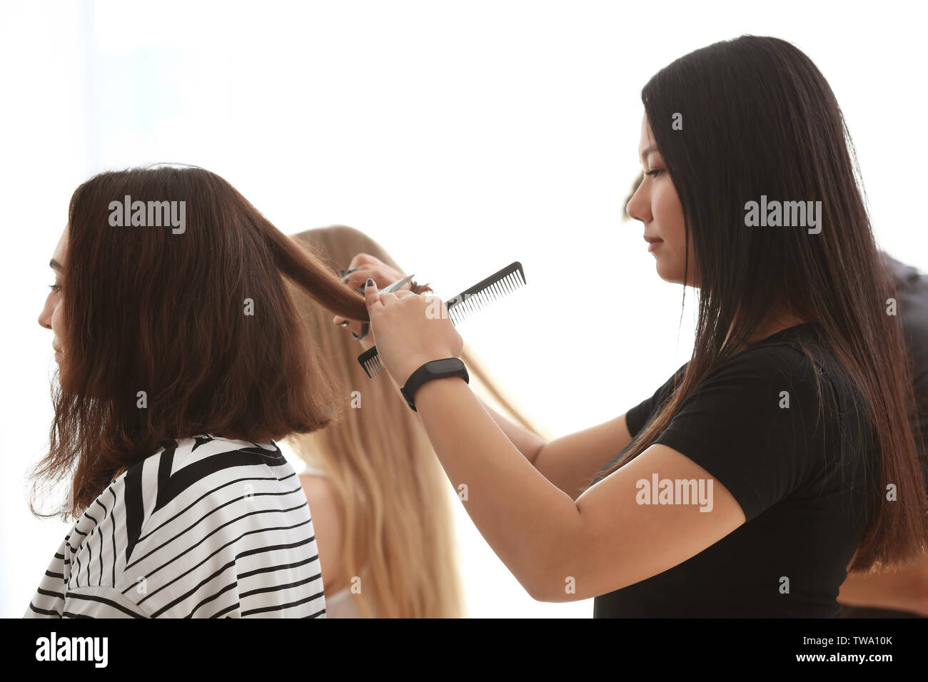 Page 12 - Hairdresser Apprentice High Resolution Stock Photography