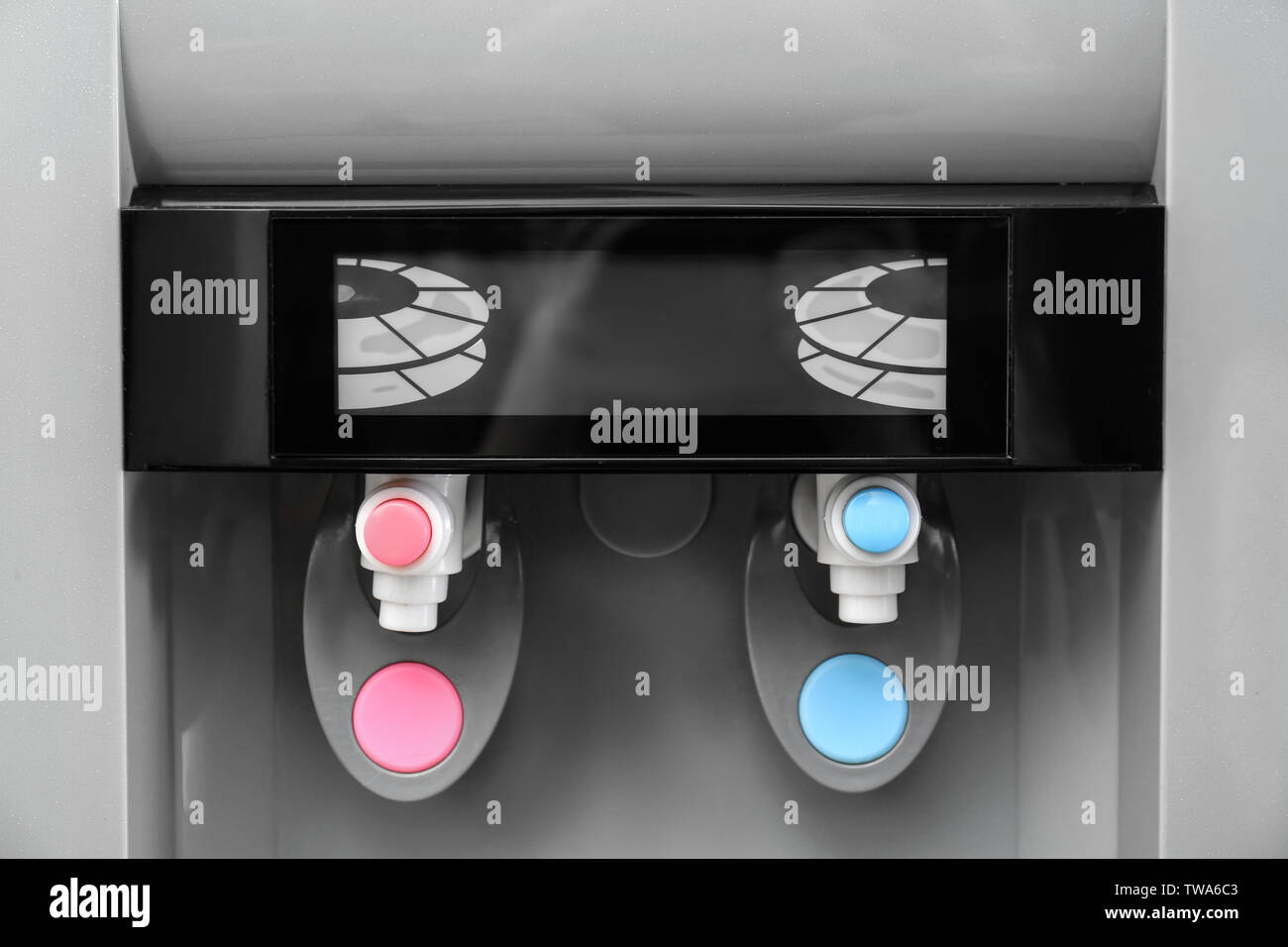 Office water cooler, closeup - Stock Image