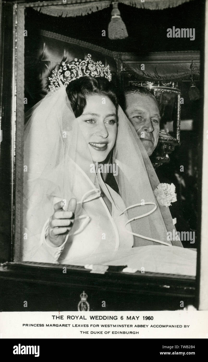 Princess Margaret Wedding High Resolution Stock Photography And