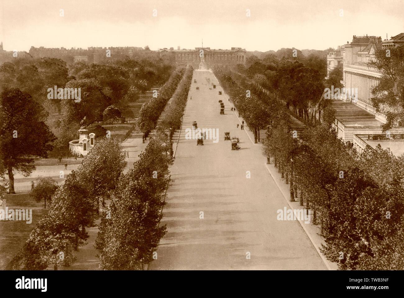 The Mall, London, UK, ca 1920 - Stock Image