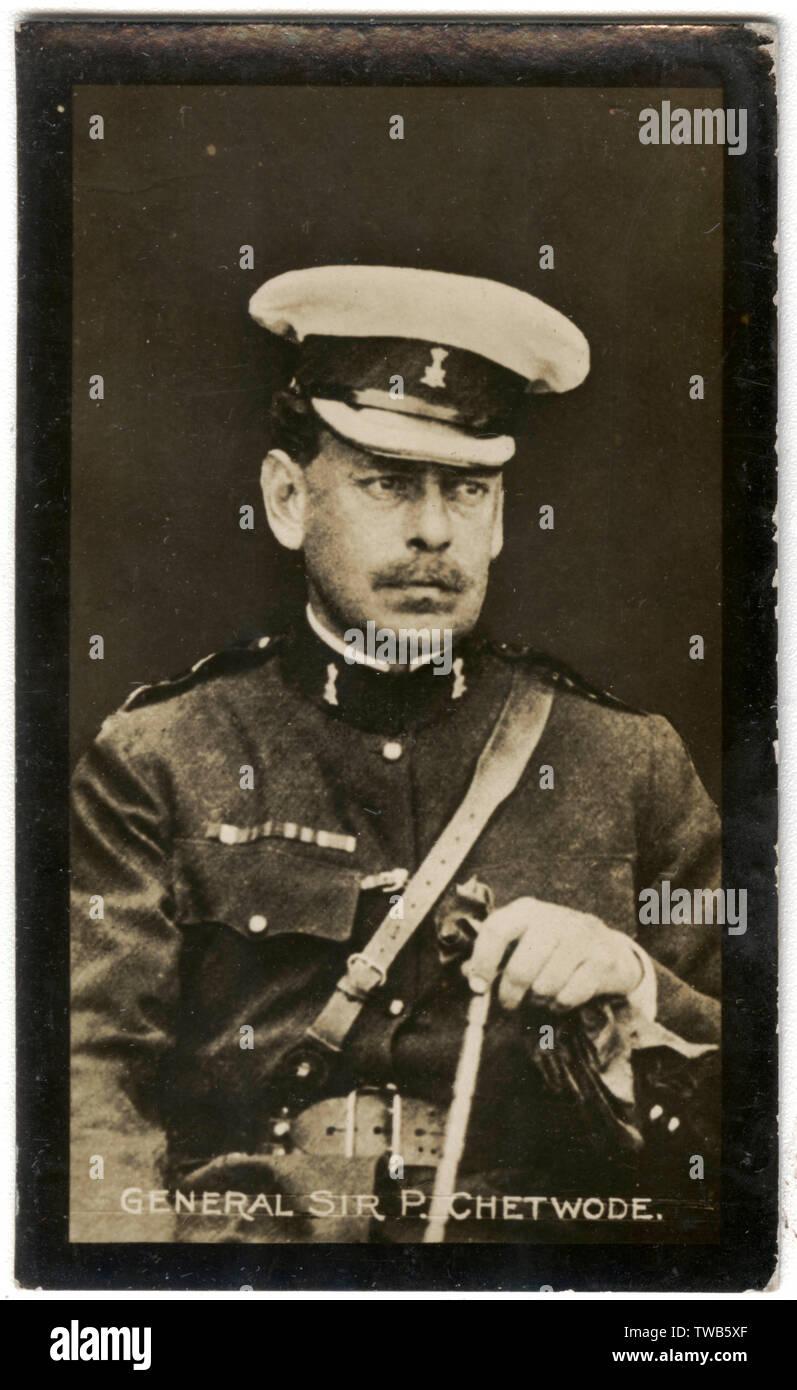 General Sir Philip Chetwode (1869-1950), British cavalry officer, First World War.      Date: circa 1913-1914 - Stock Image