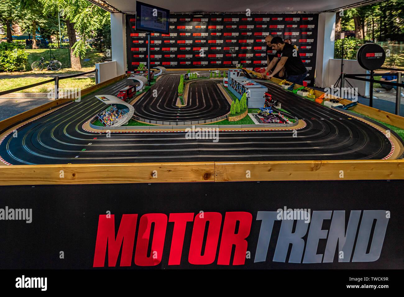 Piedmont Turin - Turin auto show 2019  - Valentino park -  Motor Trand Stock Photo