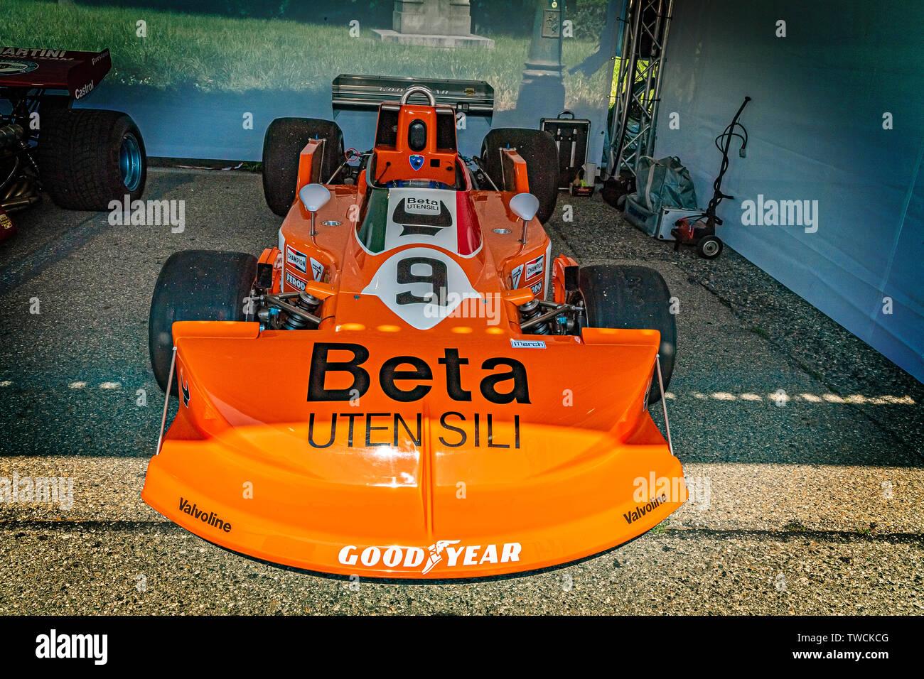 Piedmont Turin - Turin auto show 2019  - Valentino park - Stock Photo