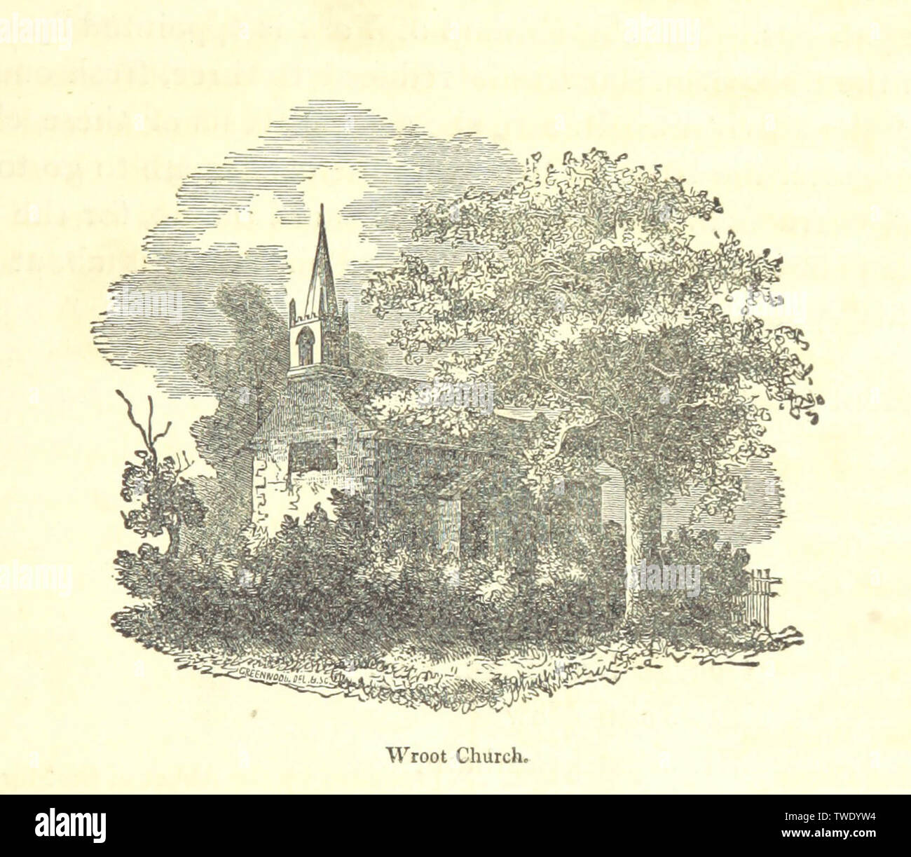 The history and topography of the Isle of Axholme being that part of Lincolnshire which is west of Trent - Stock Image