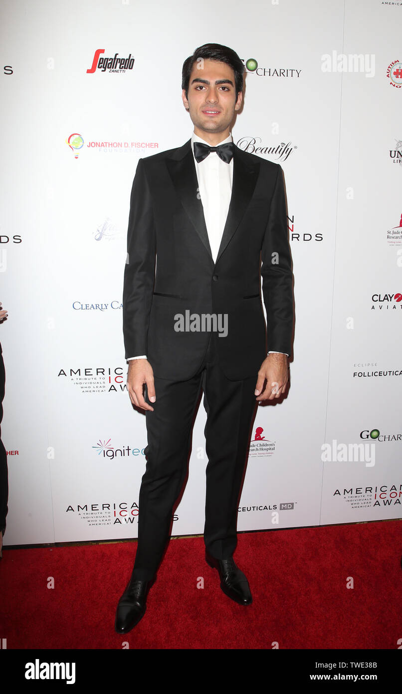 2019 American Icon Awards Featuring: Matteo Bocelli Where: Beverly Hills, California, United States When: 20 May 2019 Credit: FayesVision/WENN.com - Stock Image