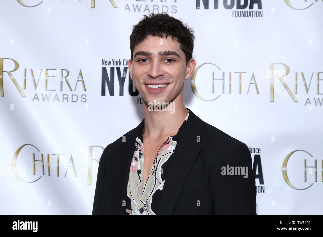 The 2019 Chita Rivera Awards, celebrating dance and choreographic excellence, held at 566 LaGuardia Place - Arrivals. Featuring: Isaac Cole Powell Where: New York, New York, United States When: 20 May 2019 Credit: Joseph Marzullo/WENN.com - Stock Image
