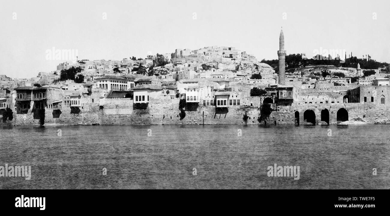 armenia, beregik, on the banks of the Euphrates, 1900 - Stock Image