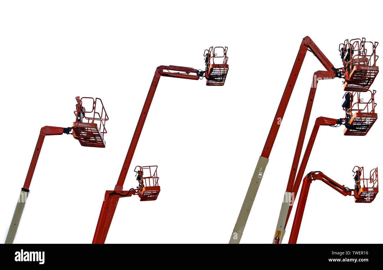 Telescopic Boom Lift Stock Photos & Telescopic Boom Lift Stock