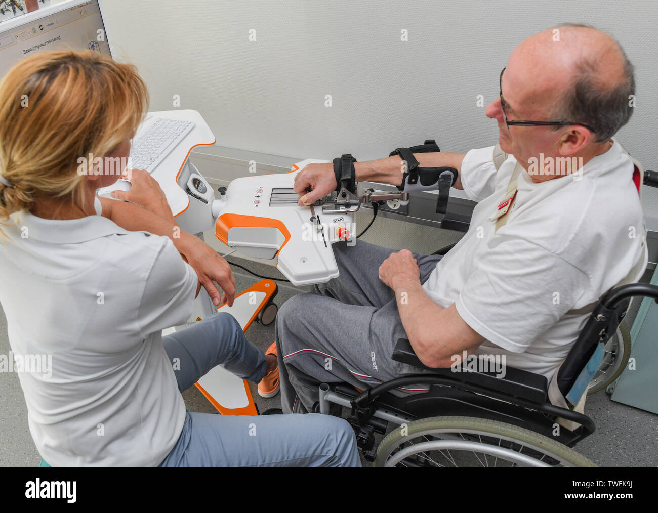 Stroke Patient Rehabilitation Stock Photos & Stroke Patient