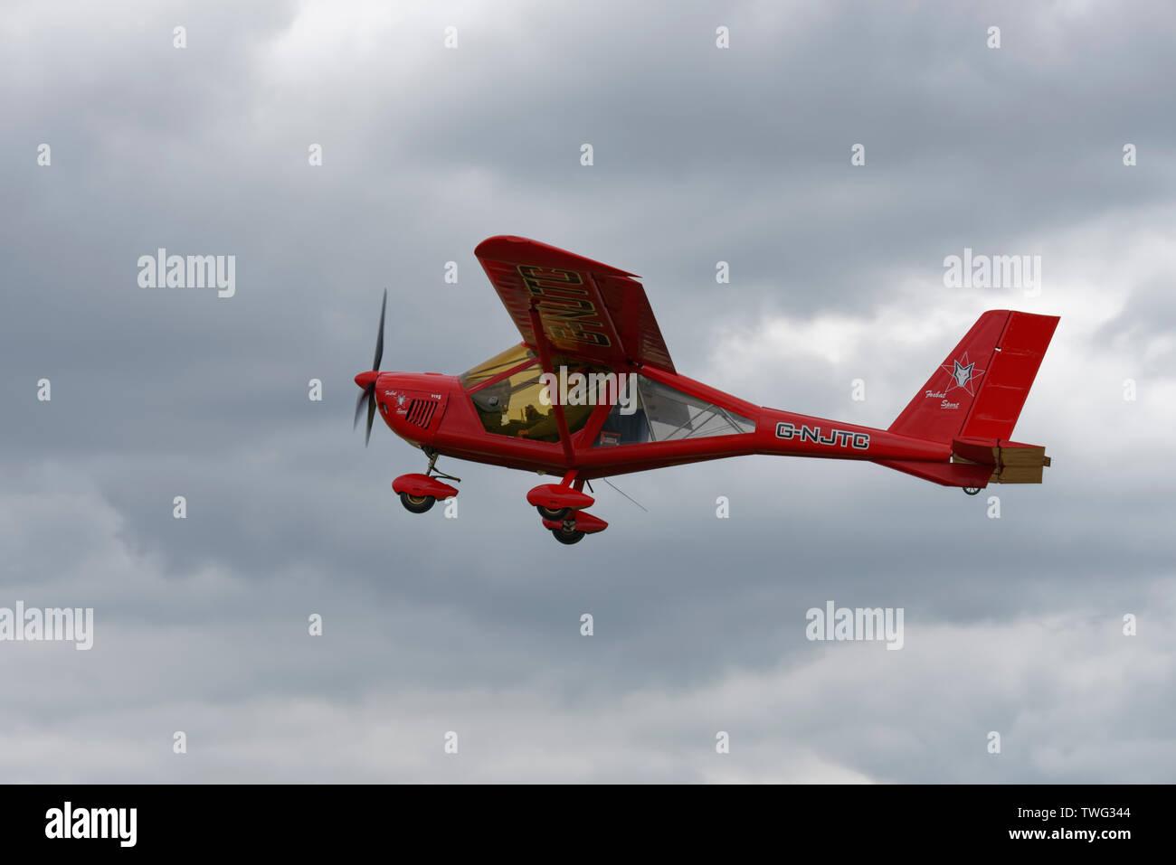 Ultralight Aircraft Stock Photos & Ultralight Aircraft Stock