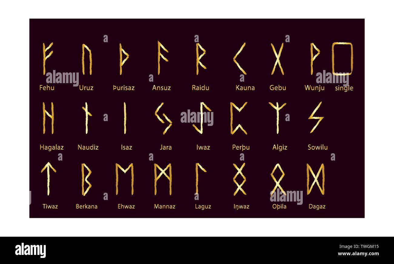 Page 20   Rune Set High Resolution Stock Photography and Images   Alamy